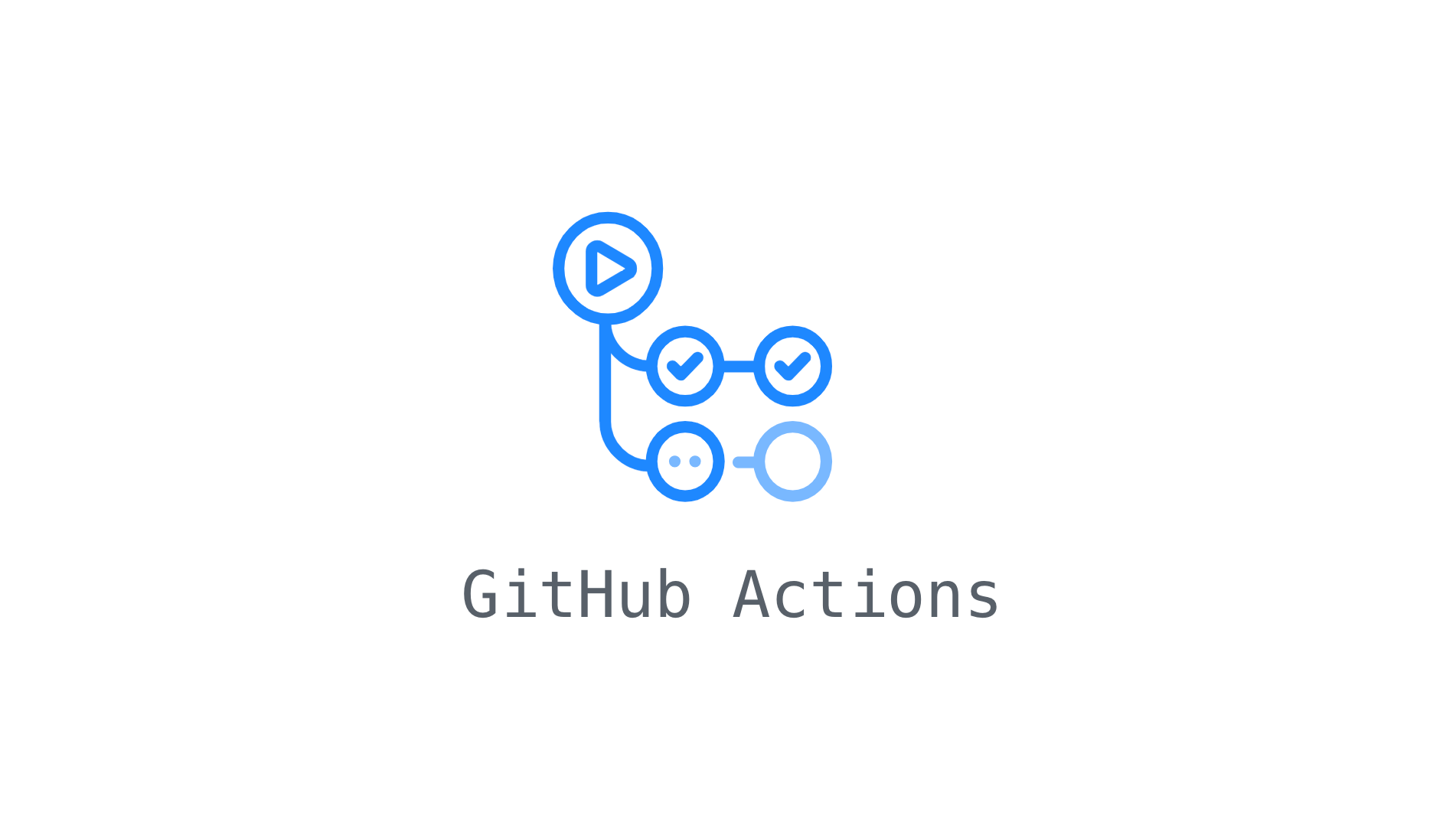 Snippet of GitHub Actions